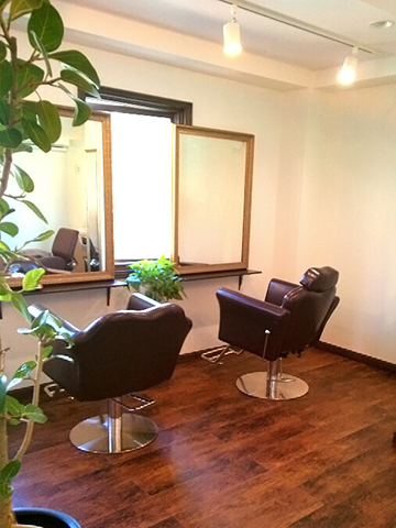 hair salon Retour